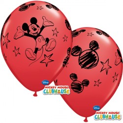 "MICKEY MOUSE 12"" RED (6X6CT)"
