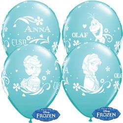 "FROZEN ANNA, ELSA & OLAF 12"" CARIBBEAN BLUE (6X6CT)"