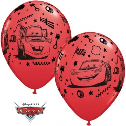 "CARS LIGHTENING McQUEEN & MATER 12"" RED (6X6CT)"