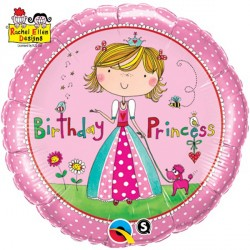"RACHEL ELLEN BIRTHDAY PRINCESS 18"" PKT"