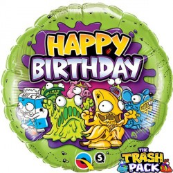 "THE TRASH PACK BIRTHDAY 18"" PKT"