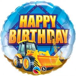 "CONSTRUCTION ZONE BIRTHDAY 18"" PKT"