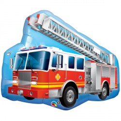 "RED FIRE TRUCK 36"" SHAPE GROUP C PKT"