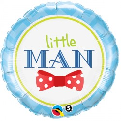 "LITTLE MAN BOW-TIE 18"" PKT"