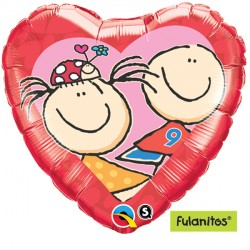 "FULANITOS FAULA & GOLEIRO IN LOVE 18"" SALE"