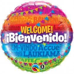 "WELCOME! BIENVENIDO 18"" PKT"