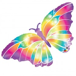 "LUMINOUS BUTTERFLY 44"" SHAPE GROUP C PKT"