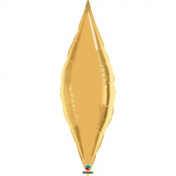 """GOLD 38"""" TAPER FLAT"""