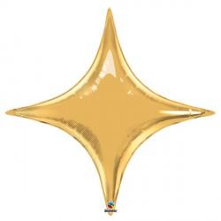 "GOLD 40"" STARPOINT FLAT"
