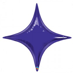 "QUARTZ PURPLE STARPOINT 20"" FLAT"