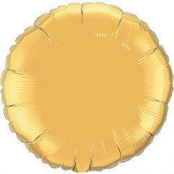 "GOLD ROUND 36"" FLAT Q"