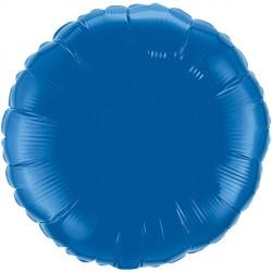 """DARK BLUE ROUND 18"""" FLAT Q"""