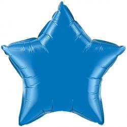 "SAPPHIRE BLUE STAR 9"" FLAT Q GY"