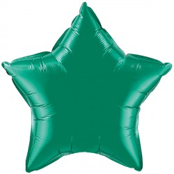 "EMERALD GREEN STAR 9"" FLAT Q"
