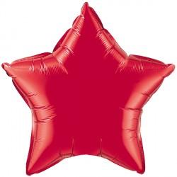 "RUBY RED STAR 9"" FLAT Q GY"