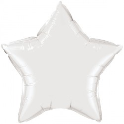 """WHITE STAR 4"""" FLAT Q"""