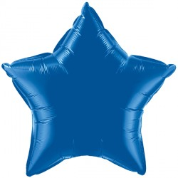 "DARK BLUE STAR 20"" FLAT Q"