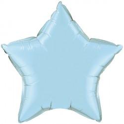 """PEARL LIGHT BLUE STAR 4"""" FLAT Q GX"""