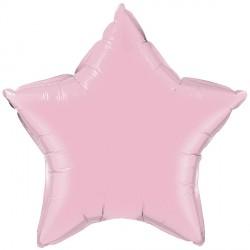 """PEARL PINK STAR 20"""" FLAT Q"""