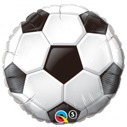"SOCCER BALL 9"" INFLATED WITH CUP & STICK"