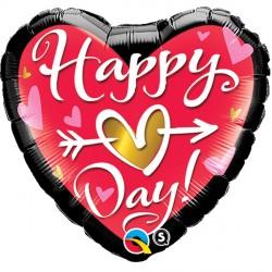 """HAPPY (HEART) DAY! 18"""" PKT"""