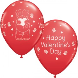 "ME TO YOU TATTY TEDDY VALENTINE'S DAY 11"" RED (25CT)"