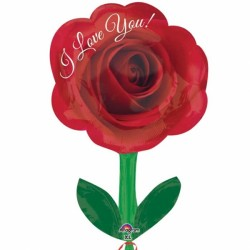 I LOVE YOU ROSE JUNIOR SHAPE S40 PKT