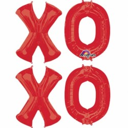 X-O-X-O LETTER BUNCH SHAPE P95 PKT