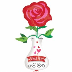 VASE LOVE YOU SHAPE P30 PKT