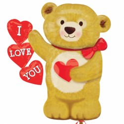 LOVE BEAR HEARTS SHAPE P30 PKT