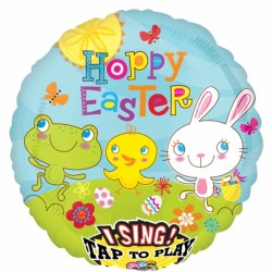 COTTONTAIL HOPPY EASTER JUMBO SING A TUNE P60 PKT