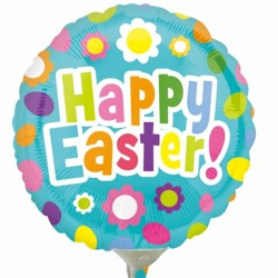 "EASTER FUN 9"" A15 INFLATED WITH CUP & STICK"
