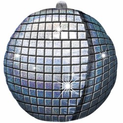 DISCO BALL SHAPE P45 PKT