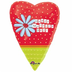 MOTHER'S DAY HEART JUNIOR SHAPE STANDARD S40 PKT