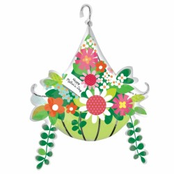 MOTHER'S DAY HANGING BASKET SHAPE P35 PKT