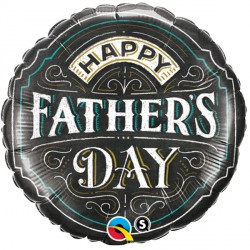 "FATHER'S DAY CHALKBOARD 18"" PKT"