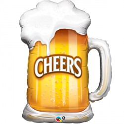 "CHEERS! BEER MUG 35"" SHAPE GROUP C PKT"