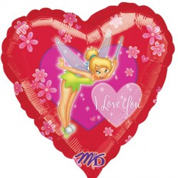 "TINKER BELL I LOVE YOU 18"" SALE"