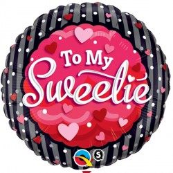 "TO MY SWEETIE HEARTS & DOTS 18"" SALE"
