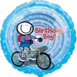 "PLANET HAPPY BIRTHDAY BOY 18"" SALE"