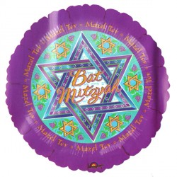 "STAR OF DAVID BAT MITZVAH 18"" SALE"