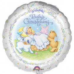 "HEAVENLY MOMENTS CHRISTENING CELEBRATION 18"" SALE"
