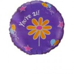 "FLUTTERBYS YOU'RE 21 DAISY 18"" SALE"