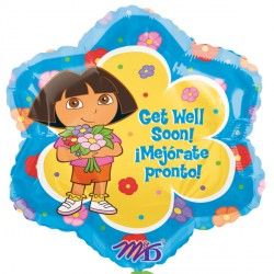 "DORA THE EXPLORA GET WELL 18"" SALE"