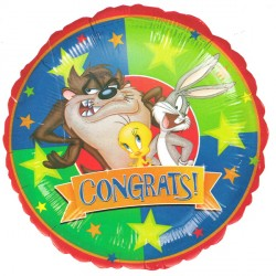 "LOONEY TUNES CONGRATS 18"" SALE"