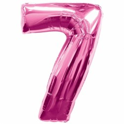 PINK NUMBER 7 SHAPE SALE