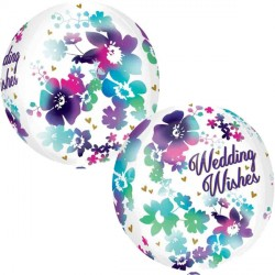 WATERCOLOUR WEDDING WISHES ORBZ G20 PKT