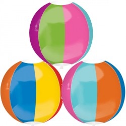 "BEACH BALL ORBZ G20 PKT (15"" x 16"")"