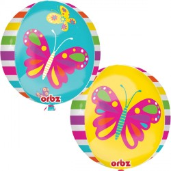 "SPRING BUTTERFLY ORBZ G20 PKT (15"" x 16"")"