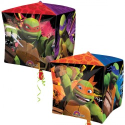 "TEENAGE MUTANT NINJA TURTLE CUBEZ G40 PKT (15"" x 15"")"